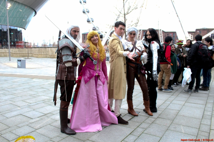 MCM-Liverpool-Comic-Con-March-2017-UK-Cosplay-Group-Outside