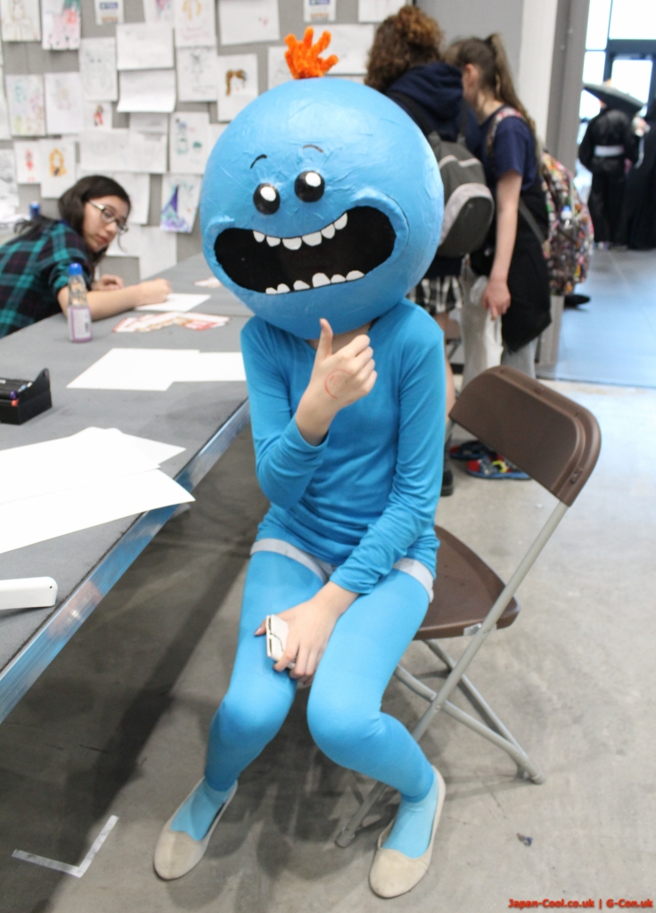 MCM-Liverpool-Comic-Con-March-2017-UK-Cosplay-Rick-and-Morty-Mr-Meeseeks