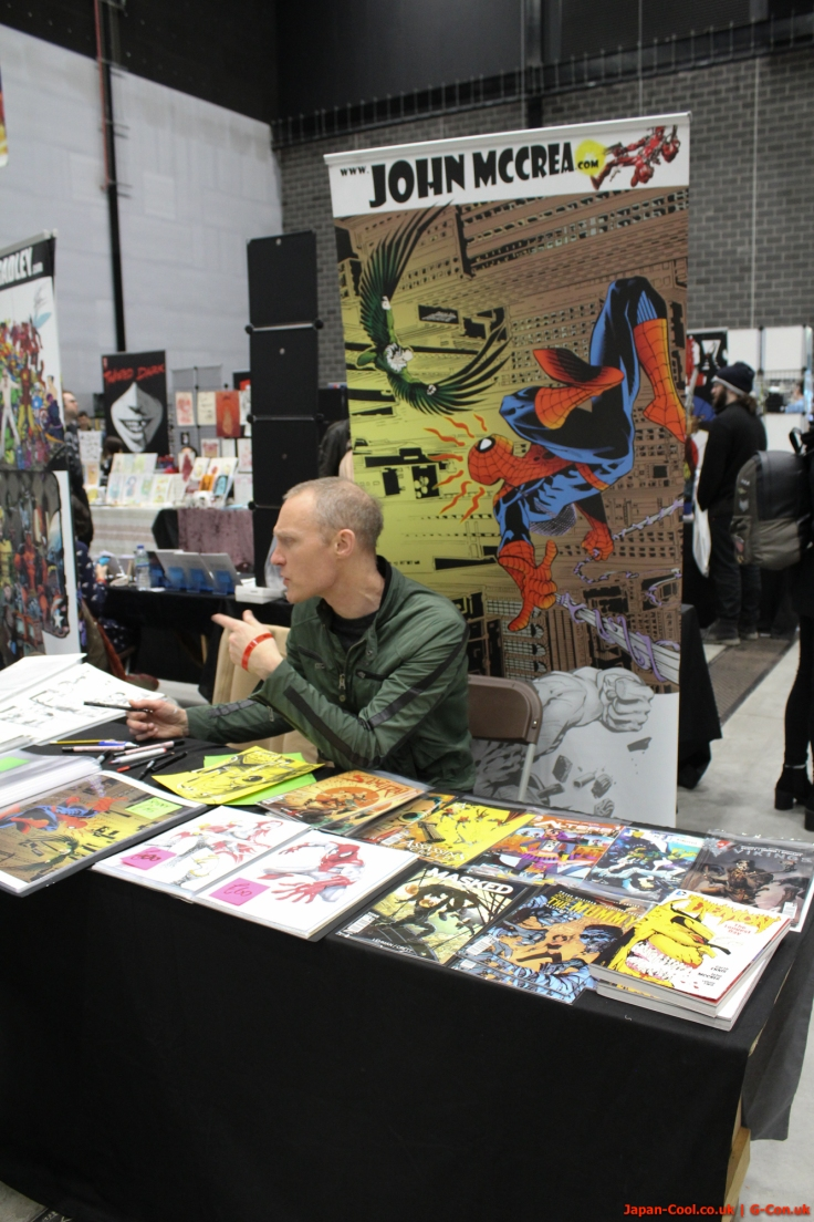 MCM-Liverpool-Comic-Con-March-2017-UK-Exhibitor-Comic-Village-John-McCrea