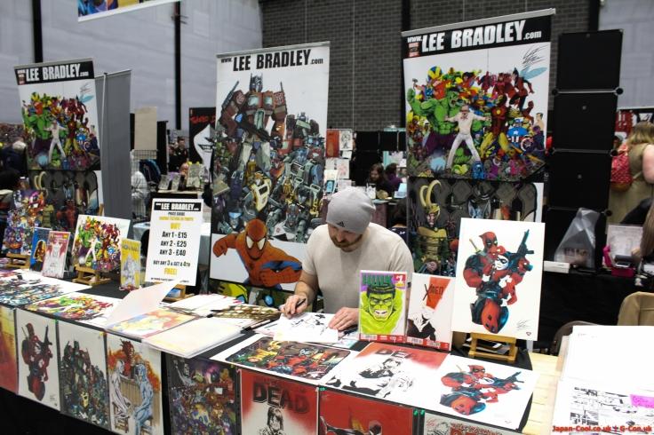 MCM-Liverpool-Comic-Con-March-2017-UK-Exhibitor-Comic-Village-Lee-Bradley