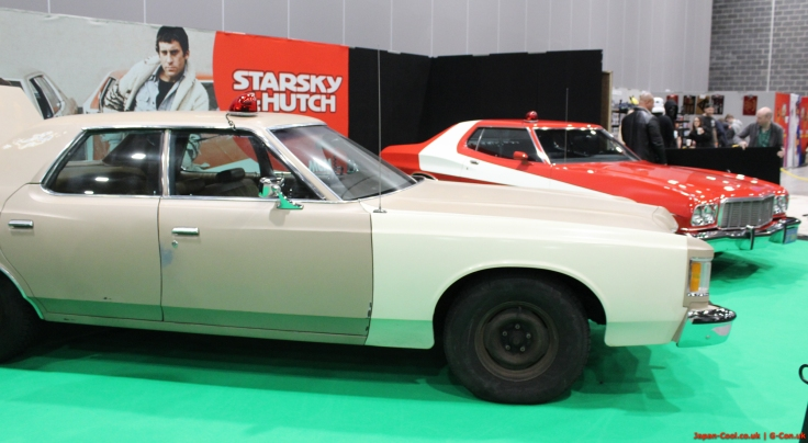 MCM-Liverpool-Comic-Con-March-2017-UK-Special-Guests-Starsky-Hutch-Cars-Vehicles